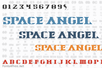 Space Angel Font