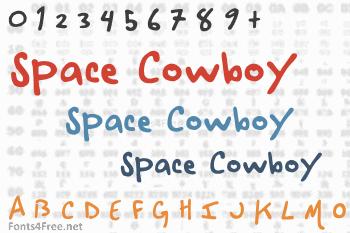 Space Cowboy Font