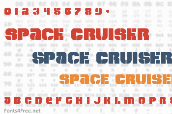Space Cruiser Font