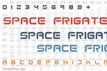 Space Frigate Font