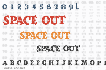 Space Out Font