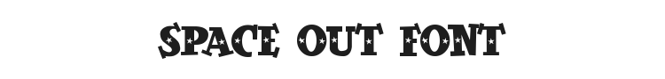 Space Out Font Preview