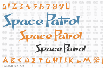 Space Patrol Font