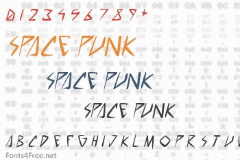 Space Punk Font