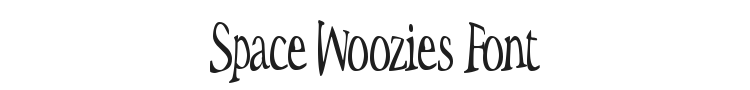 Space Woozies Font