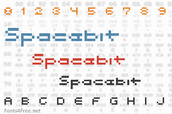 Spacebit Font