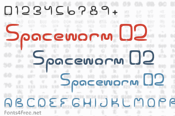 Spaceworm 02 Font