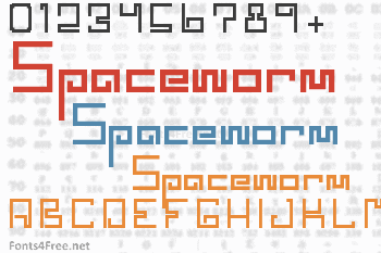 Spaceworm Font