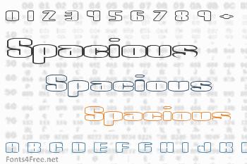 Spacious Font