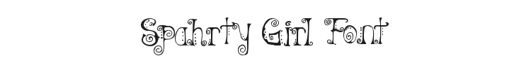 Spahrty Girl Font Preview