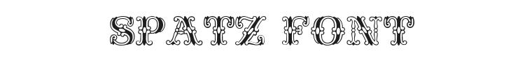 Spatz Font Preview