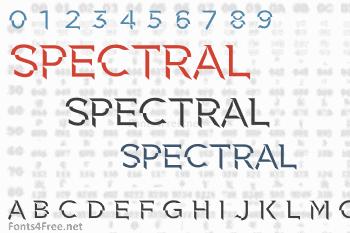 Spectral Font