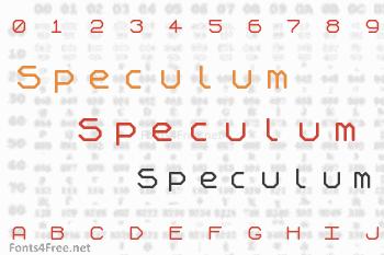 Speculum Font