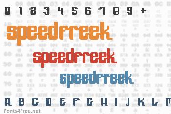 SpeedFreek Font