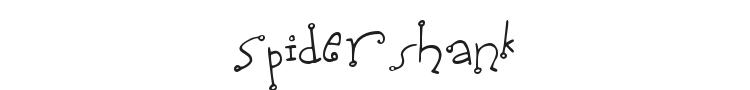 Spidershank Font