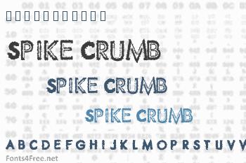 Spike Crumb Font