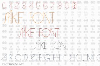 Spike Font
