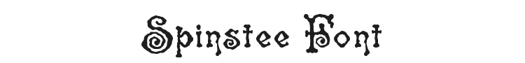 Spinstee Font Preview