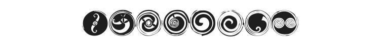 Spirals Font Preview