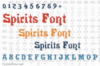 Spirits Font