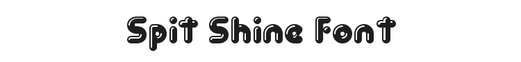 Spit Shine Font