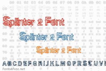 Splinter 2 Font