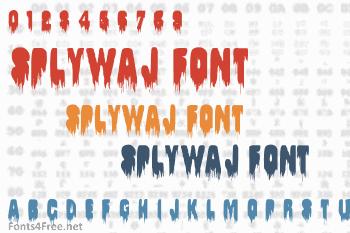 Splywaj Font