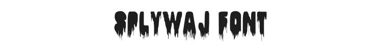 Splywaj Font Preview