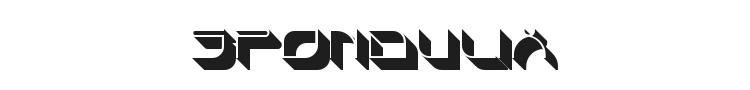 Spondulix Font Preview