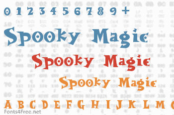 Spooky Magic Font