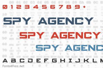 Spy Agency Font