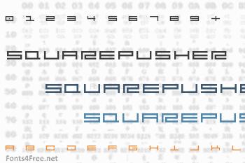 Squarepusher Font