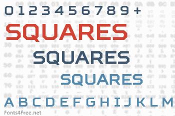 Squares Font