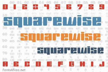 SquareWise Font