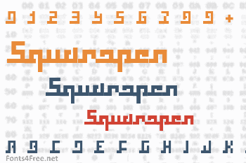 Squaropen Font