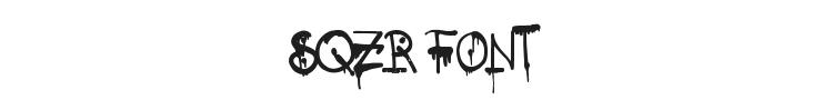 SQZR Font Preview