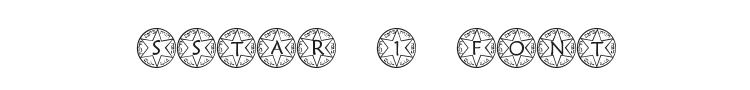 Sstar 1 Font