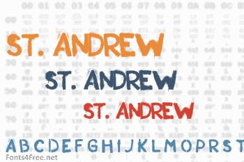 St. Andrew Font