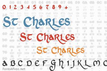 St Charles Font
