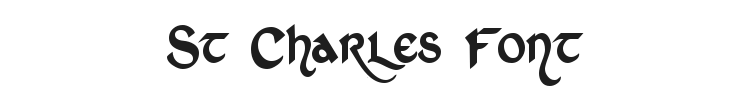 St Charles Font Preview