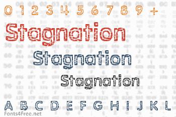 Stagnation Font