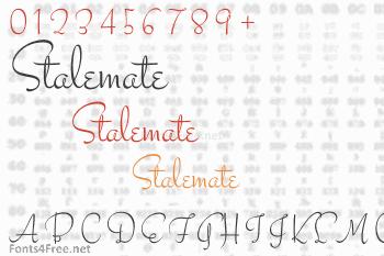 Stalemate Font