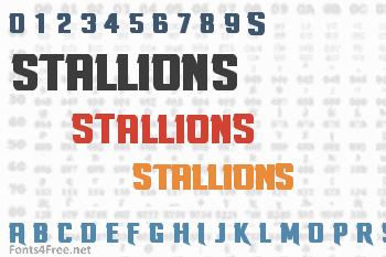 Stallions Font