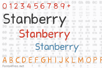 Stanberry Font