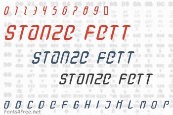 Stanze Fett Font