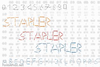 Stapler Font