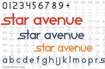 Star Avenue Font