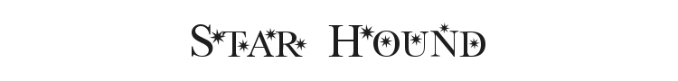 Star Hound Font Preview
