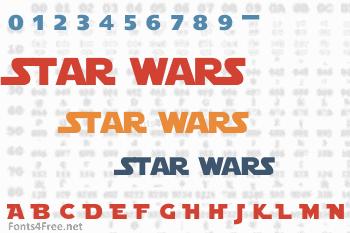 Star Jedi Font