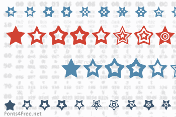 Star Things Font